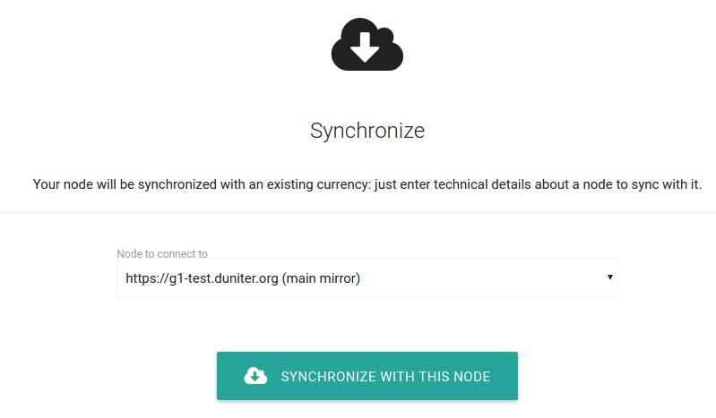 Synchonize this node
